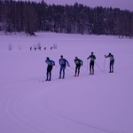 Tätklungan efter ca 13km